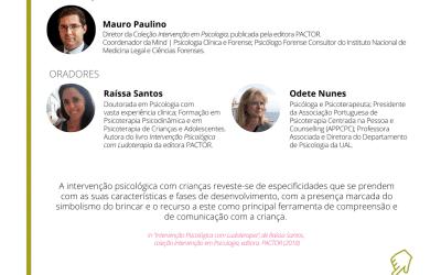 """21.10.2020 Webinar """"Intervenção em Psicologia – Reflexões sobre Ludoterapia"""""""