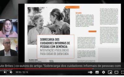 Sobregarga dos Cuidadores Informais de Pessoas com Demência.     Apresentação: Rute Brites