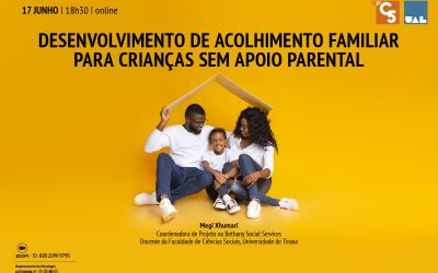 """CONFERENCE """"DEVELOPMENT OF RESIDENTIAL CARE FOR CHILDREN WITHOUT PARENTAL SUPPORT""""   17 JUNE   18:30   ONLINE"""